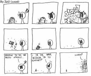 Komiks #7 by ZeU