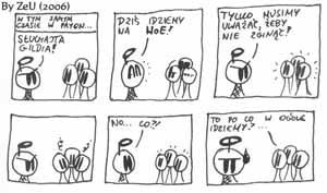 Komiks #8 by ZeU